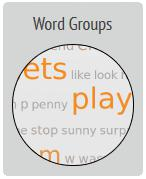 Word Groups Example Image